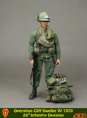 1:6 Scale ace 13019 Operation Cliff Dweller IV1970  25th Infantry Vietnam war
