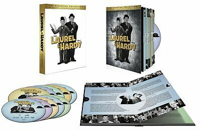 Laurel & Hardy: The Essential Collection (DVD, 2011, 10-Disc Set) Factory Sealed