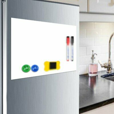 A3/A4 Flexible Fridge Magnetic Whiteboard Home Family Office Memo Reminder KU