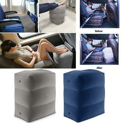Inflatable Office Travel Footrest Leg Foot Rest Cushion Pillow Pad Kids Bed Pad