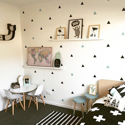 42/21 Pcs baby small triangle wall children bedroom kindergarten stickers