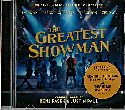 💿The Greatest Showman (Original Motion Picture Soundtrack) New Sealed💿