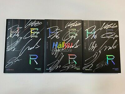 """Monsta X  """"We Are Here""""  Vol.2 -  Autographed(Signed) Promo Album (updated 3-19)"""