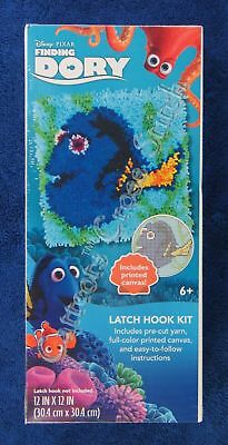 "Latch Hook Kit Disney Dory 12"" x 12"" Dimensions Printed Canvas"