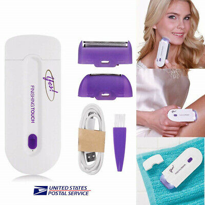 Free Hair Removal Yes Finishing Touch Face Body Hair Remover Instant Pain 2019