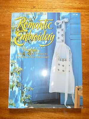 Family Circle Romantic Embroidery - Cross Stitch Pattern Book