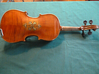 RARE VIOLON VIOLIN  made in germany stradivarius avec nacres