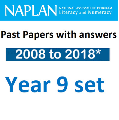NAPLAN Year 9 Official Past Papers Set