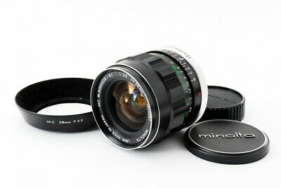 Minolta MC W.Rokkor SI 28mm F2.5 Wide Angle Lens From Japan [Exc+++] #2134A