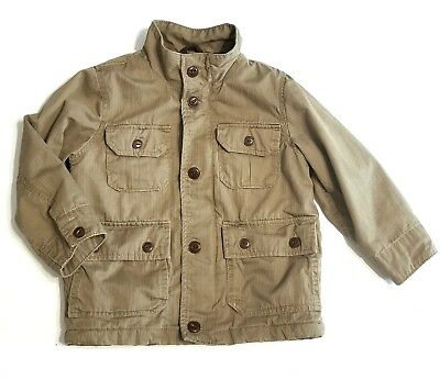Baby Gap Boys 4 Years Toddler Beige Tan Jacket Coat