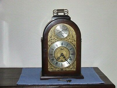 German Urgos 8 day Westminster,Bracket clock, Westminster chime, 5 hammers