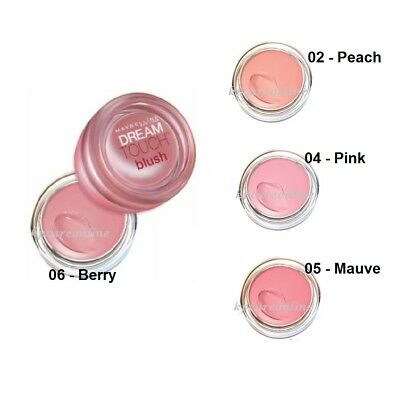 GEMEY MAYBELLINE DREAM TOUCH BLUSH CREME 04 PINK ROSE Fard à Joues REF 26N701
