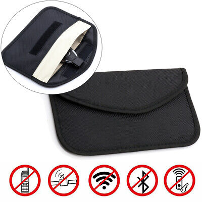 NEW Car Key Signal Blocker Case Faraday Cage Fob Pouch Keyless RFID Blocking Bag