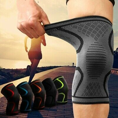 Knee Compression Brace Support Sleeves Strap Band Arthritis Pain Relief LIGH UK