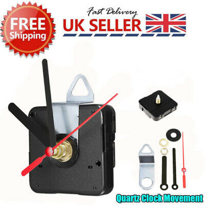 New Quartz Clock Movement Mechanism Module 1 Year+ Battery Life UK Seller
