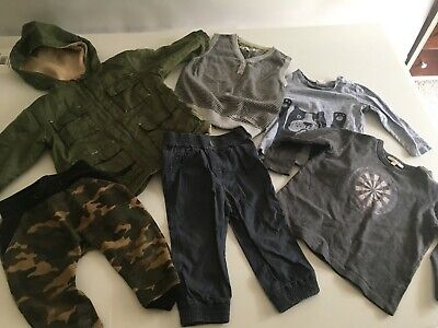 BOYS size 12 months Country Road, Seed, Minihaha, Miniha,Rock Your Kid bulk lot