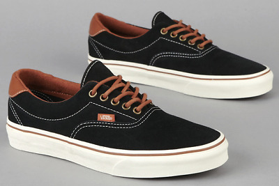 VANS ERA 59 (H&L) (MLX) Suede Black Mens Canvas Leather Lace