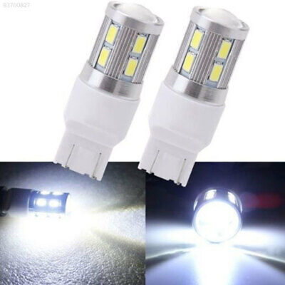 4266 2pcs T20 7440 7443 LED Bulb Car Tail Lamp Brake Signal Light 13 SMD White