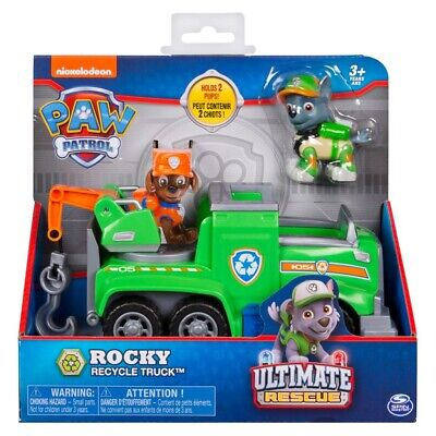 Paw Patrol Ultimate Rescue Themed Vehicle - Rocky Recycle Truck