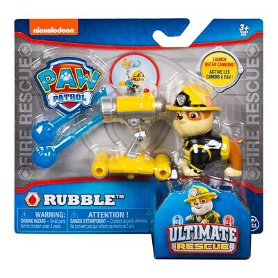 Paw Patrol Ultimate Rescue Action Pack - Rubble
