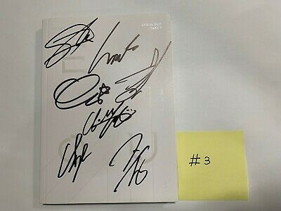 """Monsta X """"Take. 1 Are you there ?"""" Vol.2  - Autographed(signed) Promo Album (#3)"""