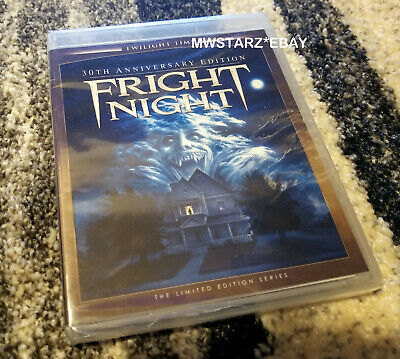 Fright Night (1985) Twilight Time 30th Anniversary Limited Edition Blu-ray New