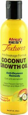 Africa's Best Textures Anti Breakage Formula Coconut Growth Oil 8oz