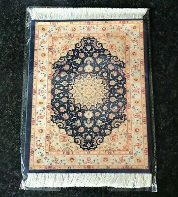 Persian rug style mouse mat mouse pad 18 x 23 cm non slip UK SELLER #D25