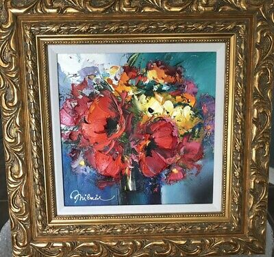 Michael Milkin Unique Oil On Canvas Painting Framed One Of A Kind