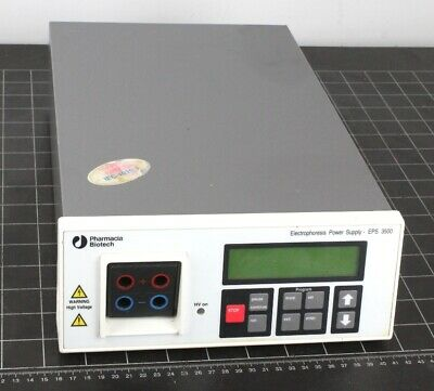 Pharmacia Biotech EPS-3500 Electrophoresis Power Supply