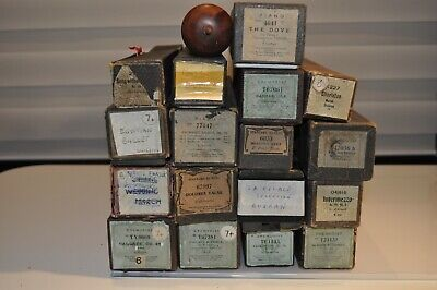job lot of 18 Pianola Rolls for 65-note ONLY vintage antique