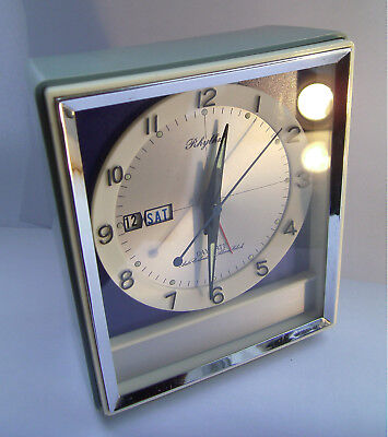 Vintage - Retro - Rhythm - Mechanical - Space Age - Alarm Clock
