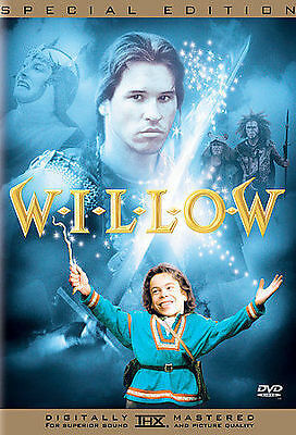 Willow (DVD, 2003, Special Edition) Val Kilmer Ron Howard George Lucas like new