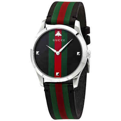 127e49b41e1 Gucci G-Timeless Men s Leather Watch YA1264079