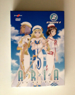 ARIA The Natural  Stagione 02 Box 02 Episodi 14-26 (3DVD BOX SET) Junichi Sato