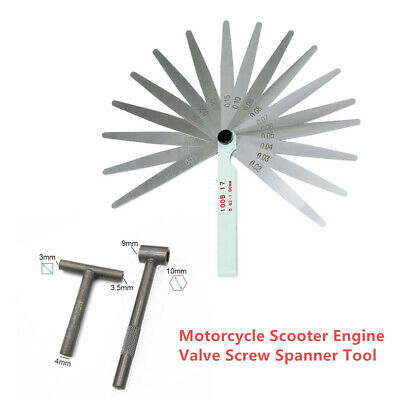Fabulous Scooter Engine Valve Screw Spanner Tool Fit for GY6 50 150cc Motorcycle