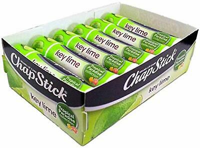 Chapstick Limited Edition Tropical Paradise Key Lime, 0.15oz, 12 Pack