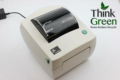 New Zebra LP2844 Direct Thermal Barcode Shipping Label Printer USB & 1000 Labels