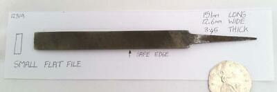 "small flat hand file  Second Cut 6""(151mm) Long"