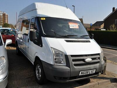 2008 FORD TRANSIT 2.4 TDCi 350 LWB High Roof Double Cab in Van Duratorq 4dr