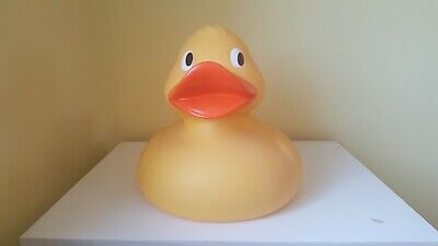 Giant novelty rubber duck toy, perfect condition, collectable