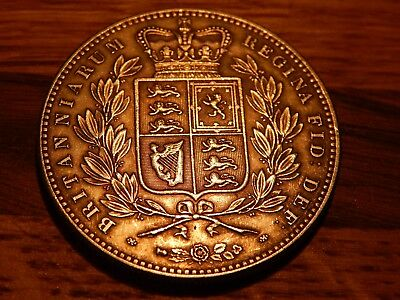 1844 queen victoria english great britain silver crown , novelty skull head