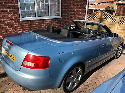 2005 Audi A4 1.8T S-Line Convertible Long Mot and Service History