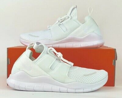 94854cd75288 NIKE FREE RN CMTR 2018 Running Shoe Summit White White AA1620-100 Sz ...