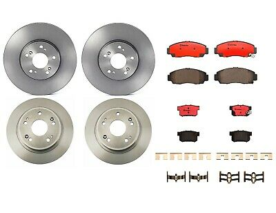 For Complete Kit Brembo Rotors Discs Bosch Pads for Nissan 300ZX 3.0 V6 DOHC