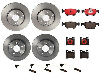 For Mercedes W202 C220 C230 C280 Front Ceramic Brake Pad Set Brembo P06017N