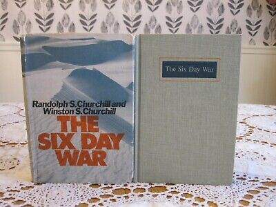 THE SIX DAY WAR Winston Randolph Churchill 1967 HC/DJ 1st PRINTING