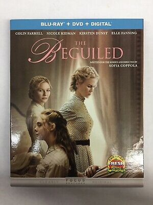 The Beguiled (Blu Ray + DVD + Digital HD)**New, Free Shipping **