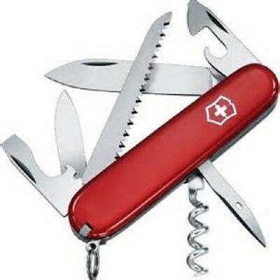 SWISS ARMY VICTORINOX CAMPER Pocket Knife MULTI TOOL BLADE SAK