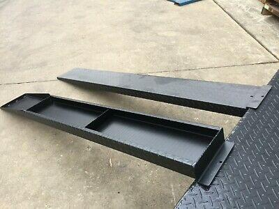 Universal Extra Wide Loading Ramps For Tandem Axle Car Trailer Suit 12Ft 14Ft 16
